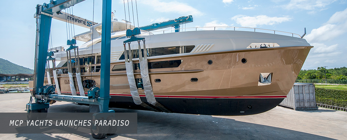 MCP Yachts launches paradiso