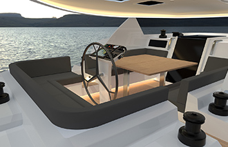 Global Exp 66 - MCP Yachts - Cockpit